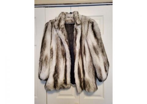 Hillmoor New York Tissavel Faux Fur Coat