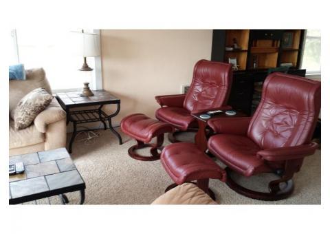 Ekornes Chairs