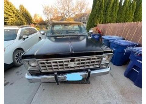 1977 chevy truck CK 10